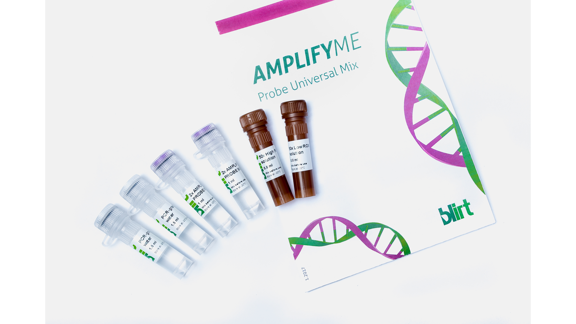 Logo AMPLIFYME Probe Universal Mix