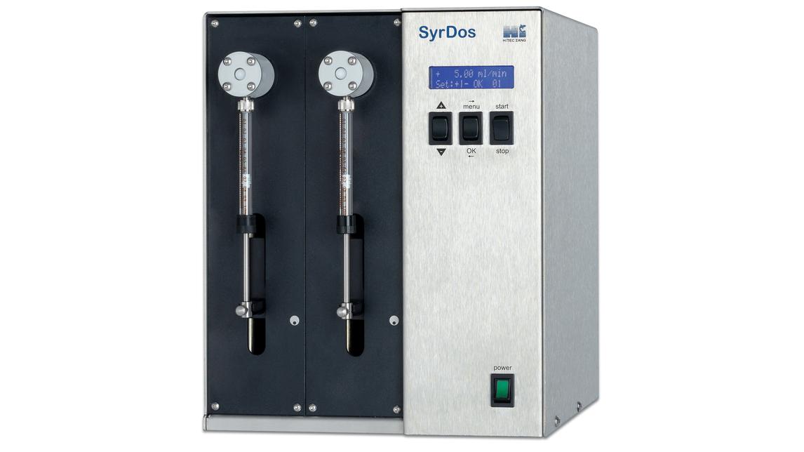 Logo SyrDos™ Precision Syringe Dosing Device