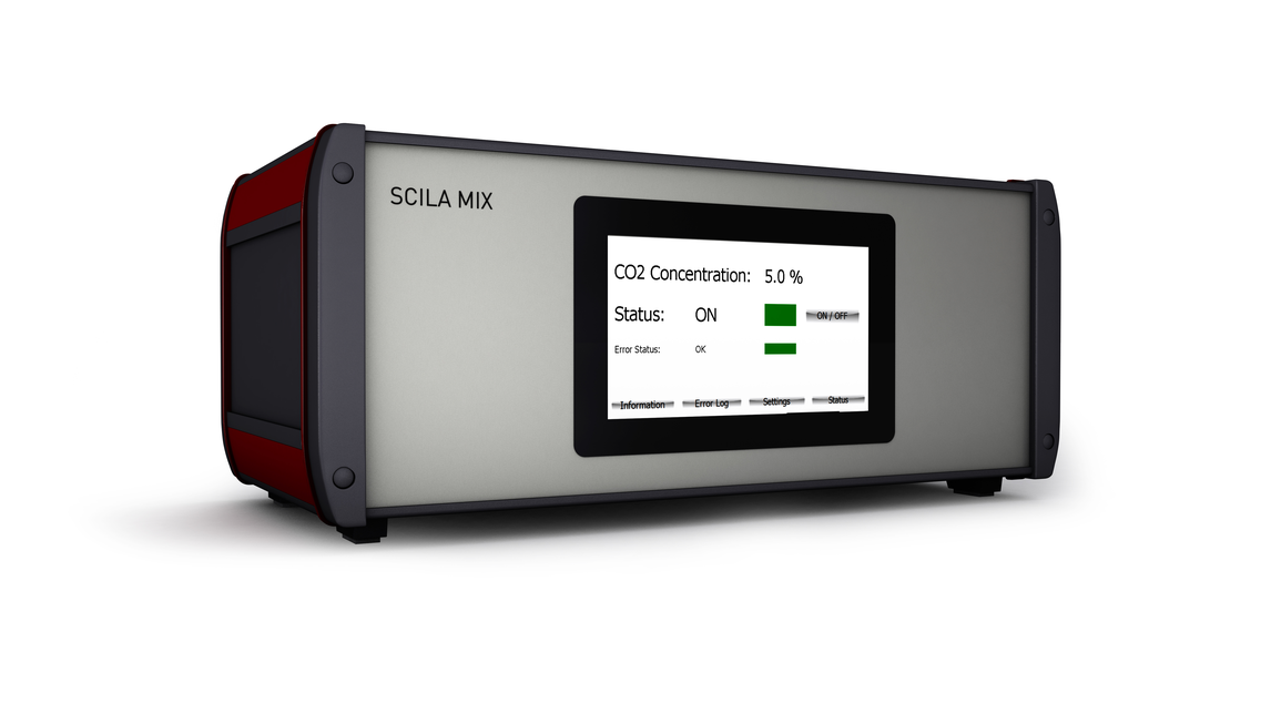 Logo SCILA CO2 MP-4 Zellinkubator
