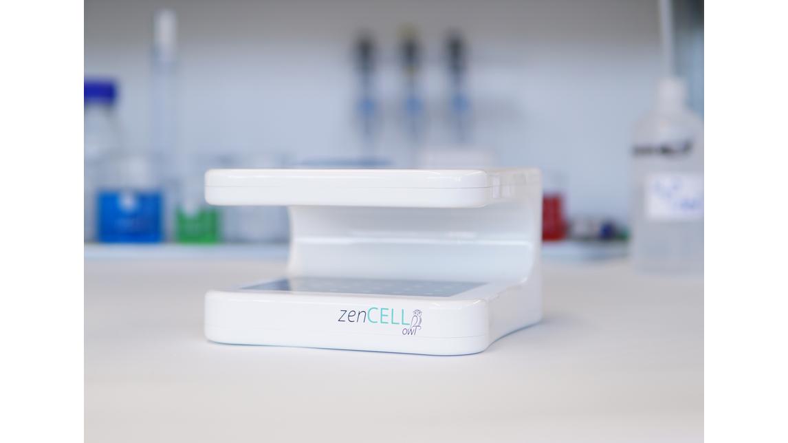 Logo zenCELL owl - Live cell imaging
