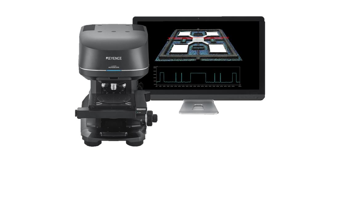 Logo Konfokales 3D Laserscanning Mikroskop