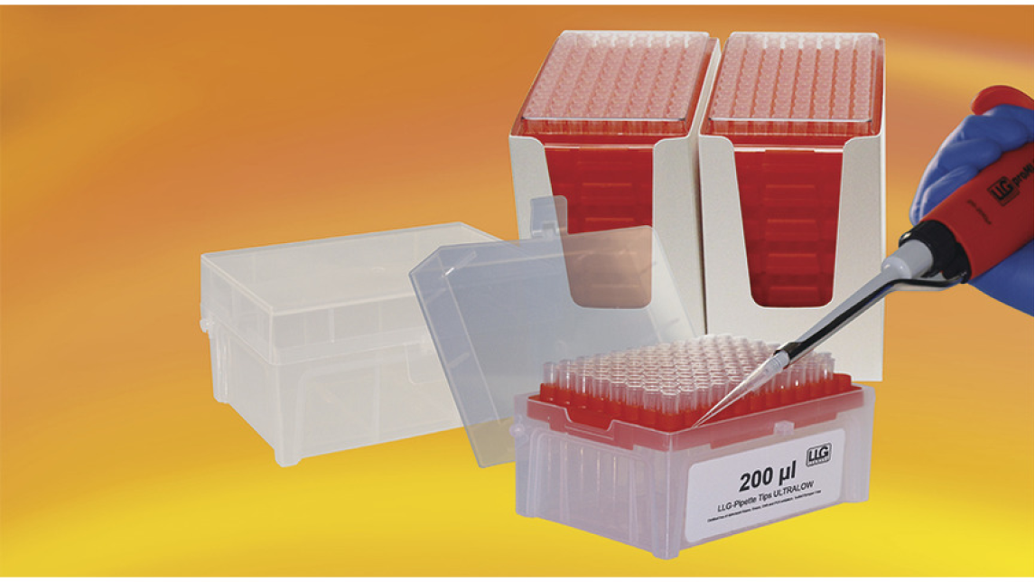 Logo LLG-Pipette tip Refill system ULTRALOW