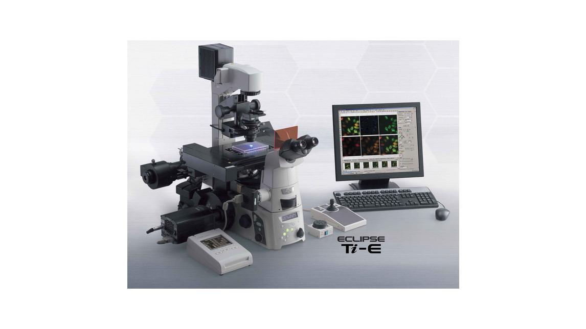 Logo Inverses Mikroskop für die Forschung: Nikon Ti-E