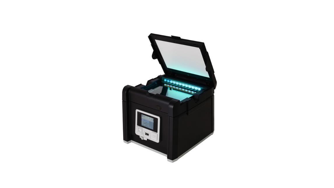 Logo FastGene BlueGreen GelPic LED Box