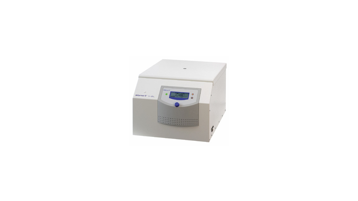 Logo SIGMA 4-5L centrifuge High-tech is more quiet