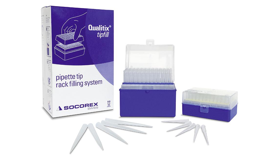 Logo Qualitix® Premium pipette tip programme