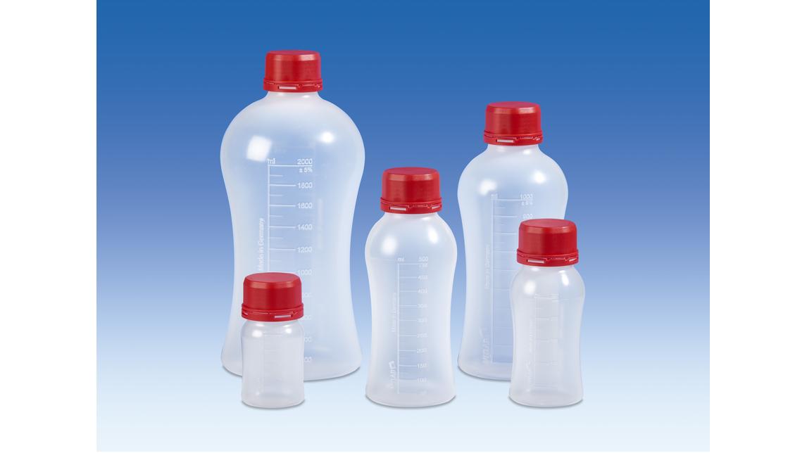 Logo VITgrip™ Lab bottles, PP