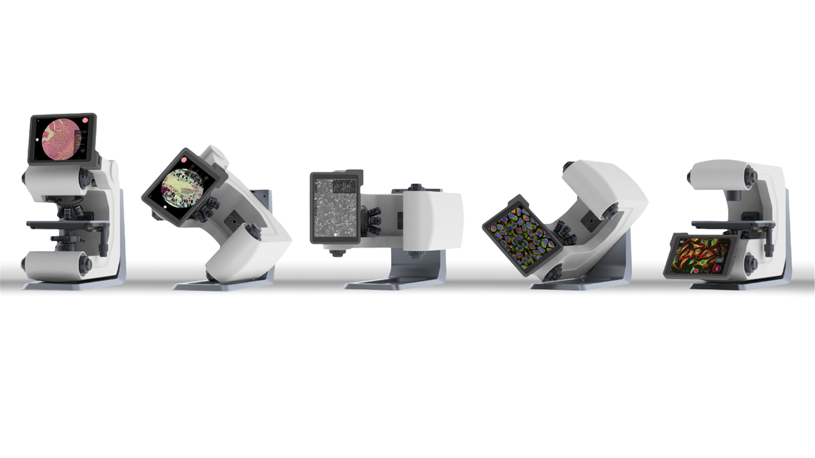 Logo Hybrid-Fluoreszenz-Mikroskop – Revolve4