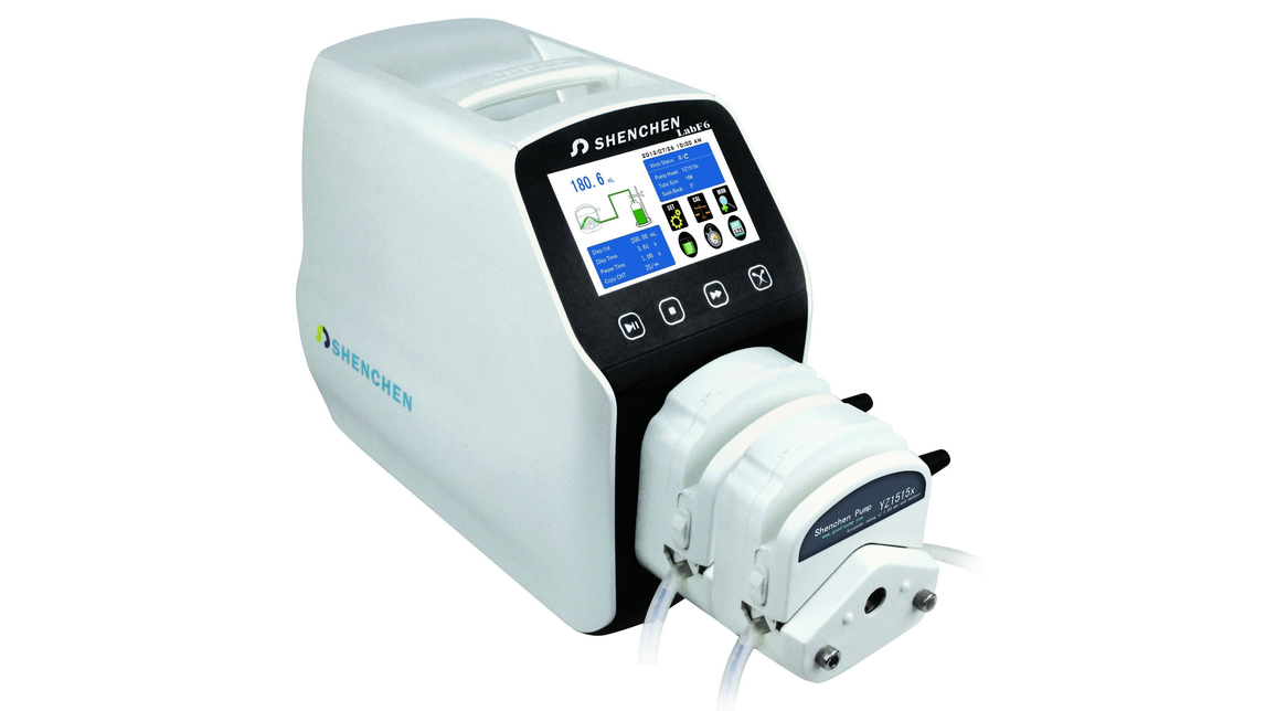 Logo Dispensing Peristaltic Pump LabF6