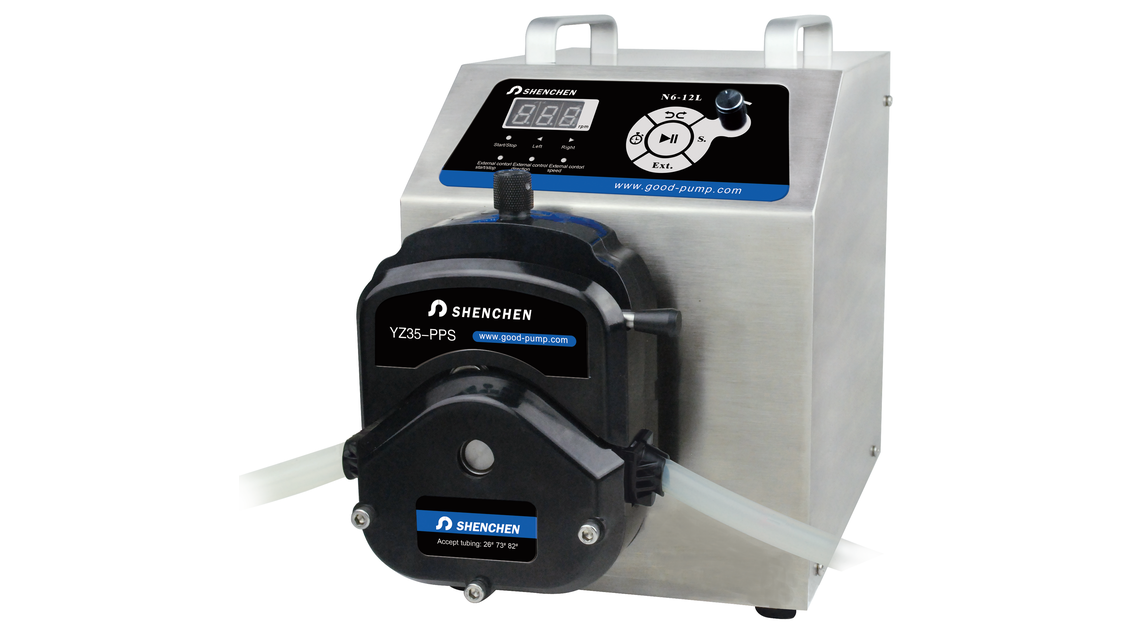 Logo Big flow rate peristaltic pump
