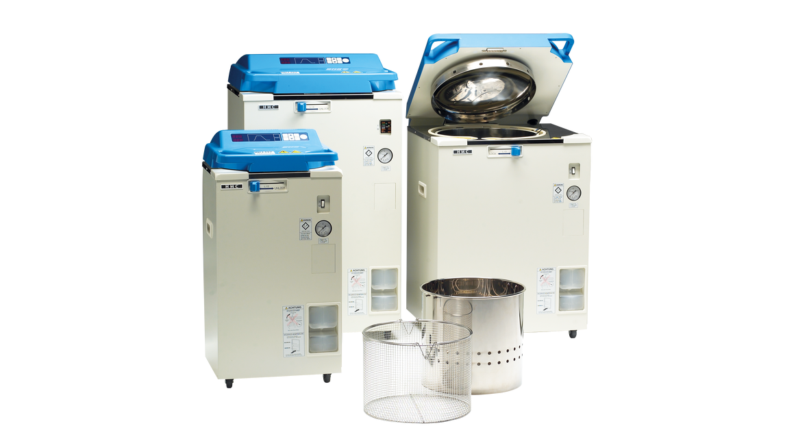 Logo Autoclaves & safety cabinets class II