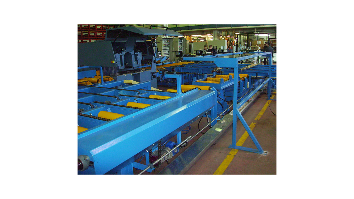 Logo Conveyors for sawn timber (roller conveyors/crosstransfer units,etc.)
