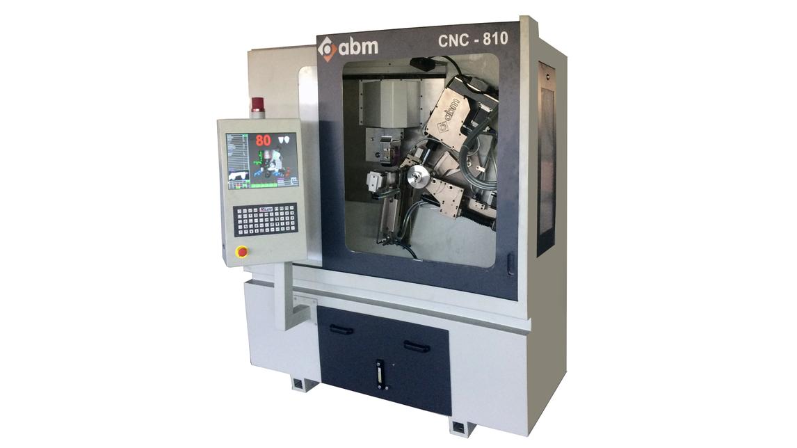 Logo CNC-810  TOP & FACE CIRCULAR SAW GRINDER