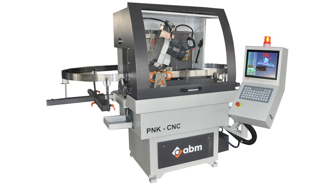Logo PNK-CNC - CNC Band Saw Grinder