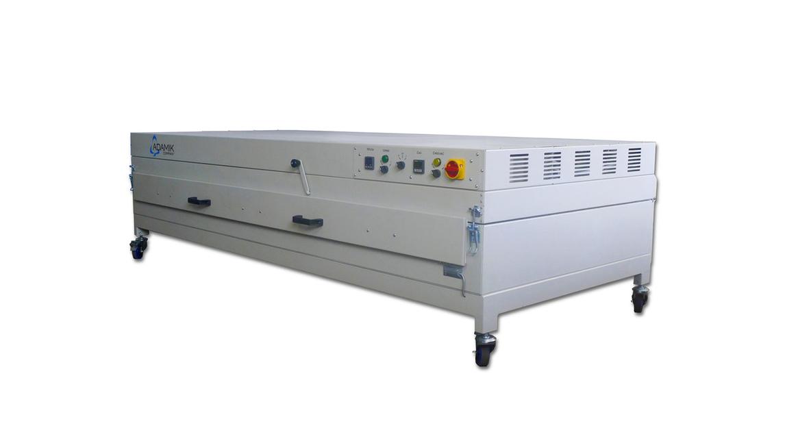 Logo Heating oven & membrane press