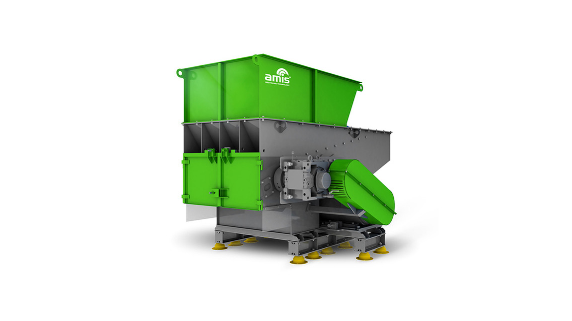 Logo AMIS Single Shaft Shredder for Wood