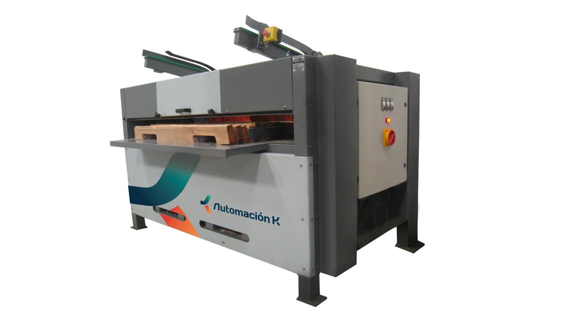 Logo Automatic Notching Machine