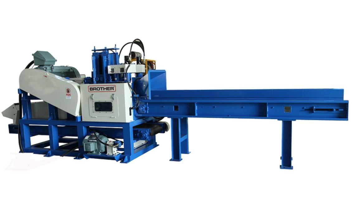 Logo Auto pallet machine, Sawdust machine