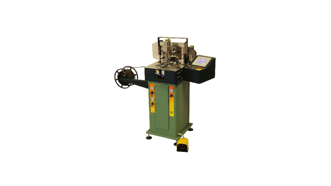 Logo Doppelkreissägen - Heftmaschinen für Rahmen - Pneumtischer Klammergät