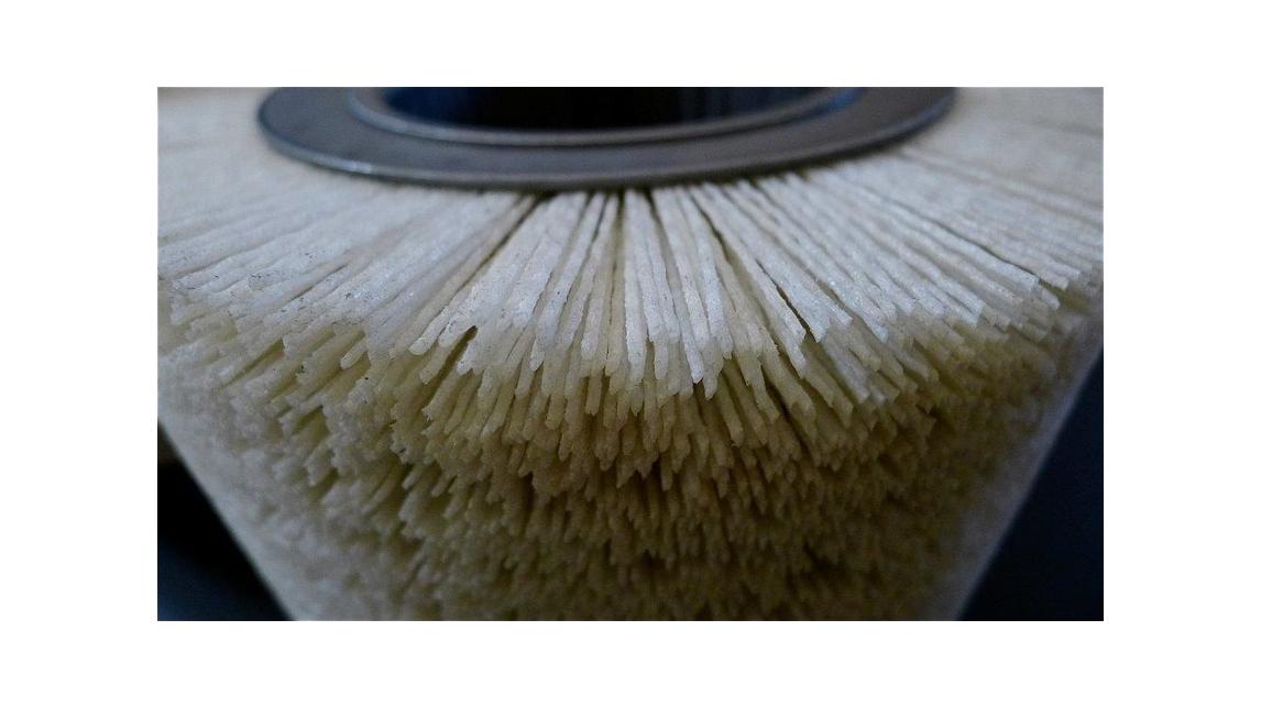 Logo Wood processing brushes: