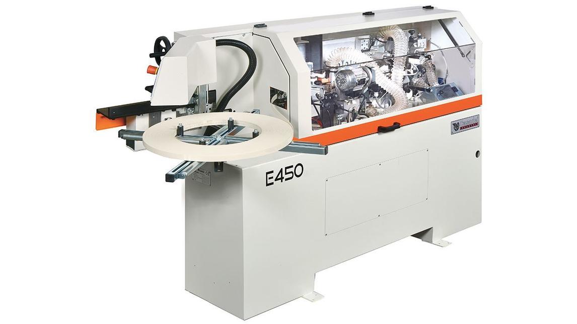 Logo Automatische Kantenanleimmaschine E450