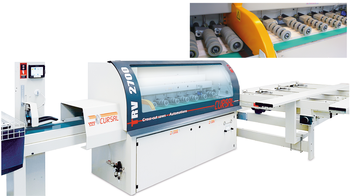 Logo AUTOMATIC OPTIMIZING CROSS-CUT SAW