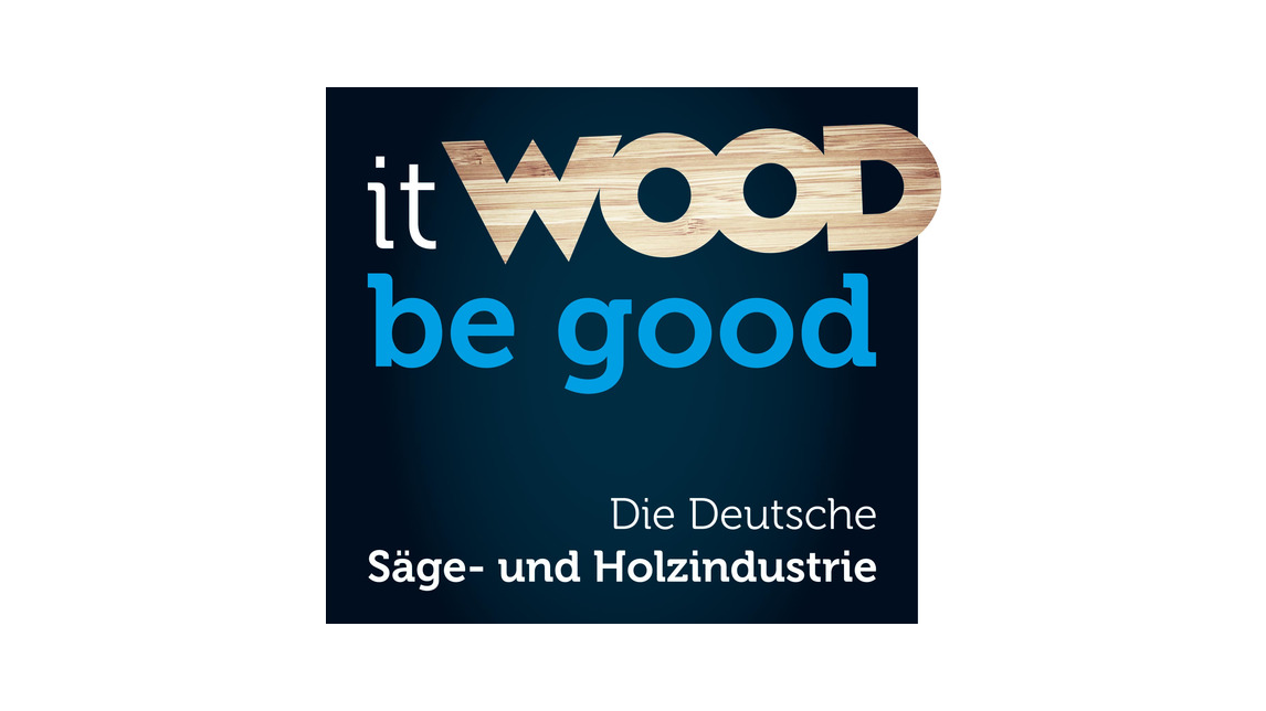 "Logo ""it wood be good"""