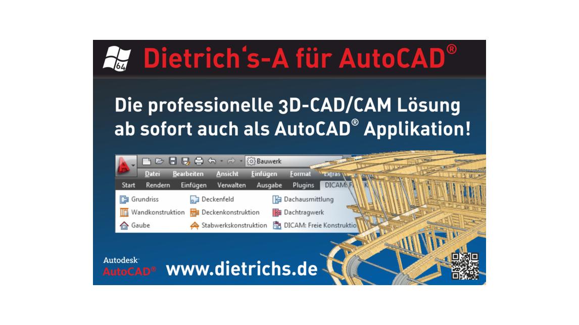 Logo Dietrich's Applikation für AutoCAD®