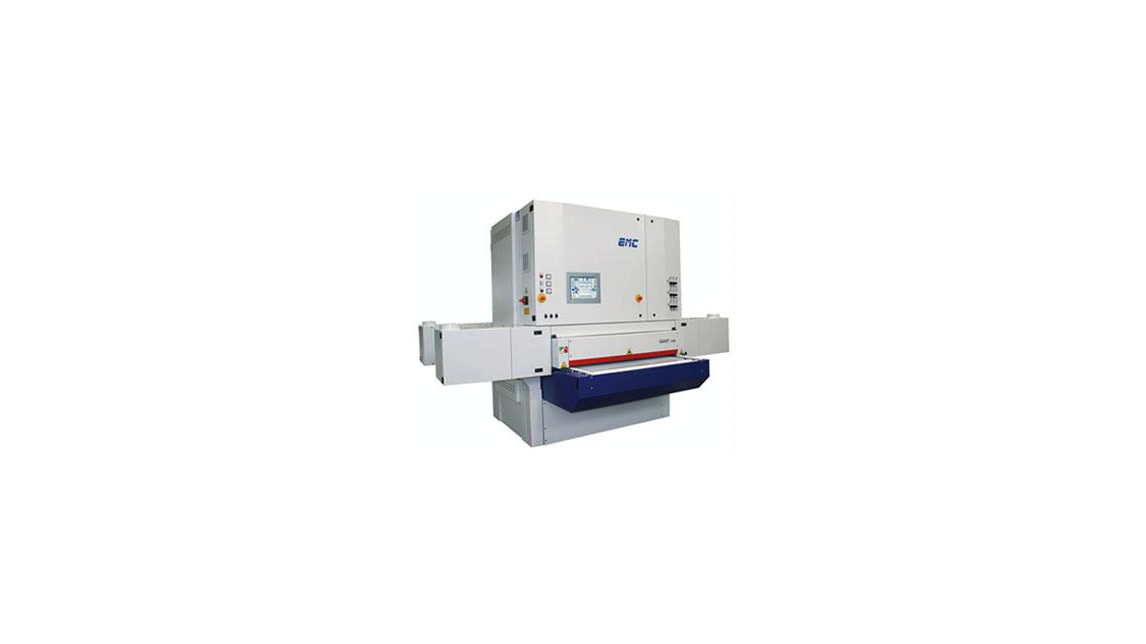 "Logo Wide belts calibrating sanding machine ""GIANT 1350"""