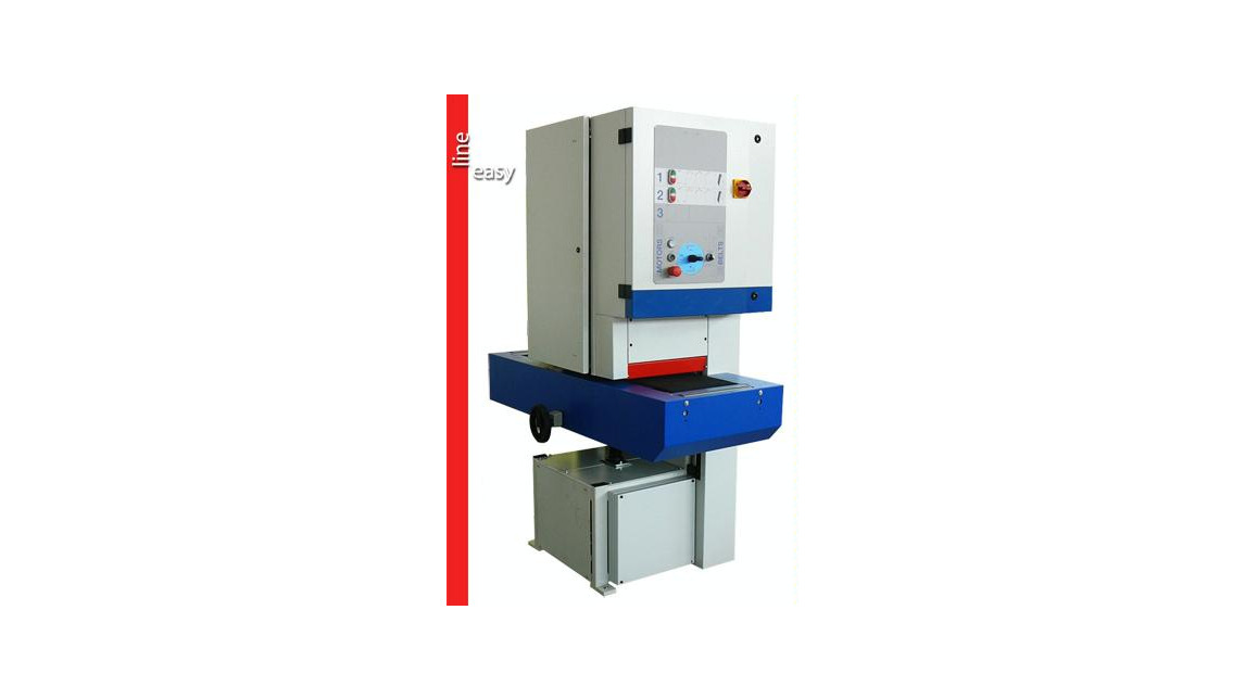 "Logo Wide belts calibrating sanding machine ""SMART 300"""