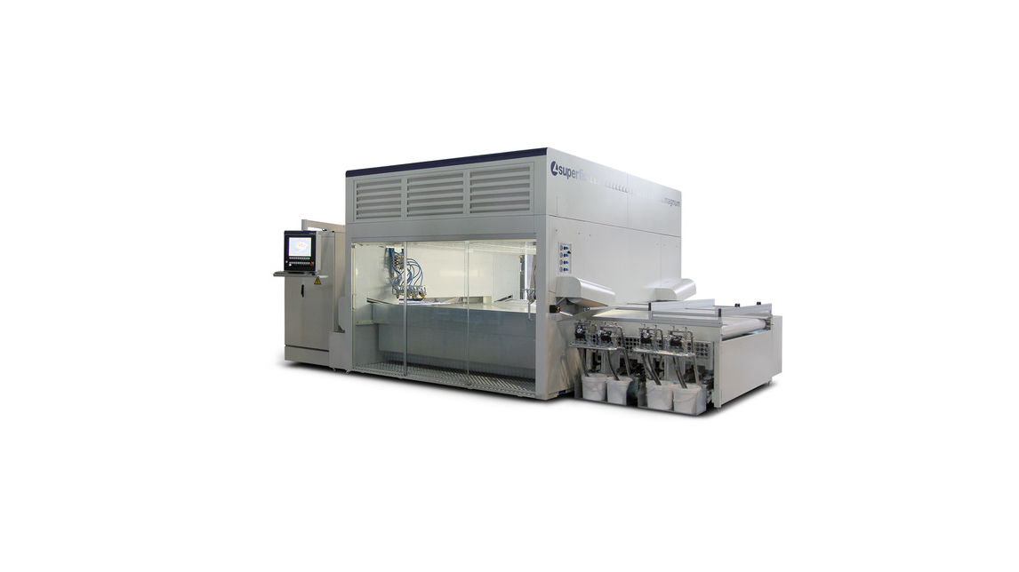 Logo MAGNUM automatic spraying machine