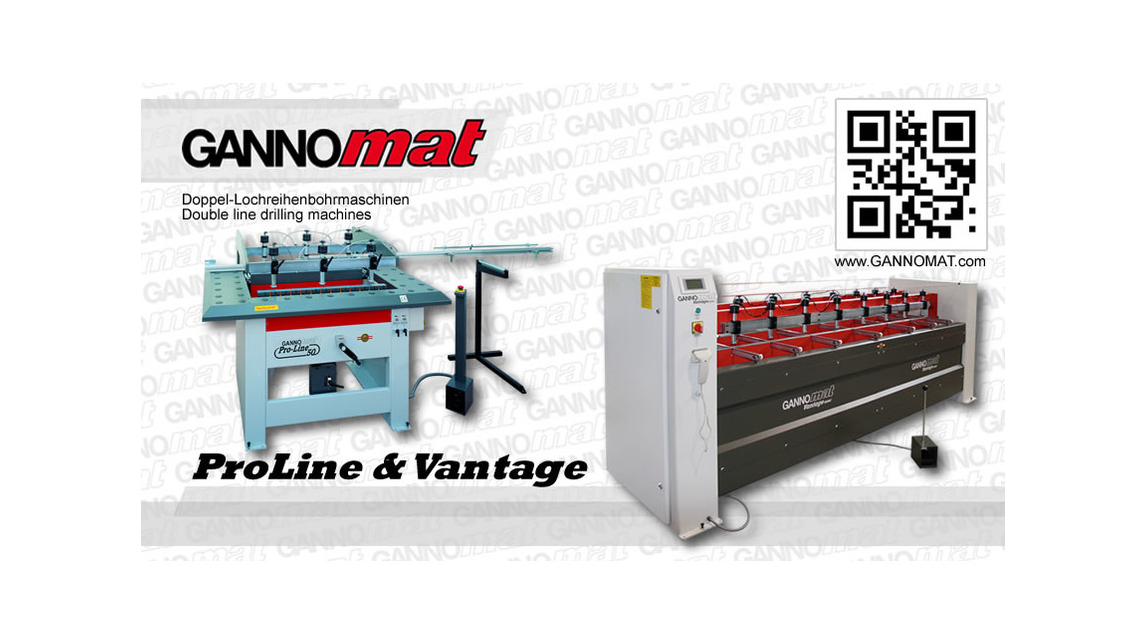 Logo Double line drilling machines