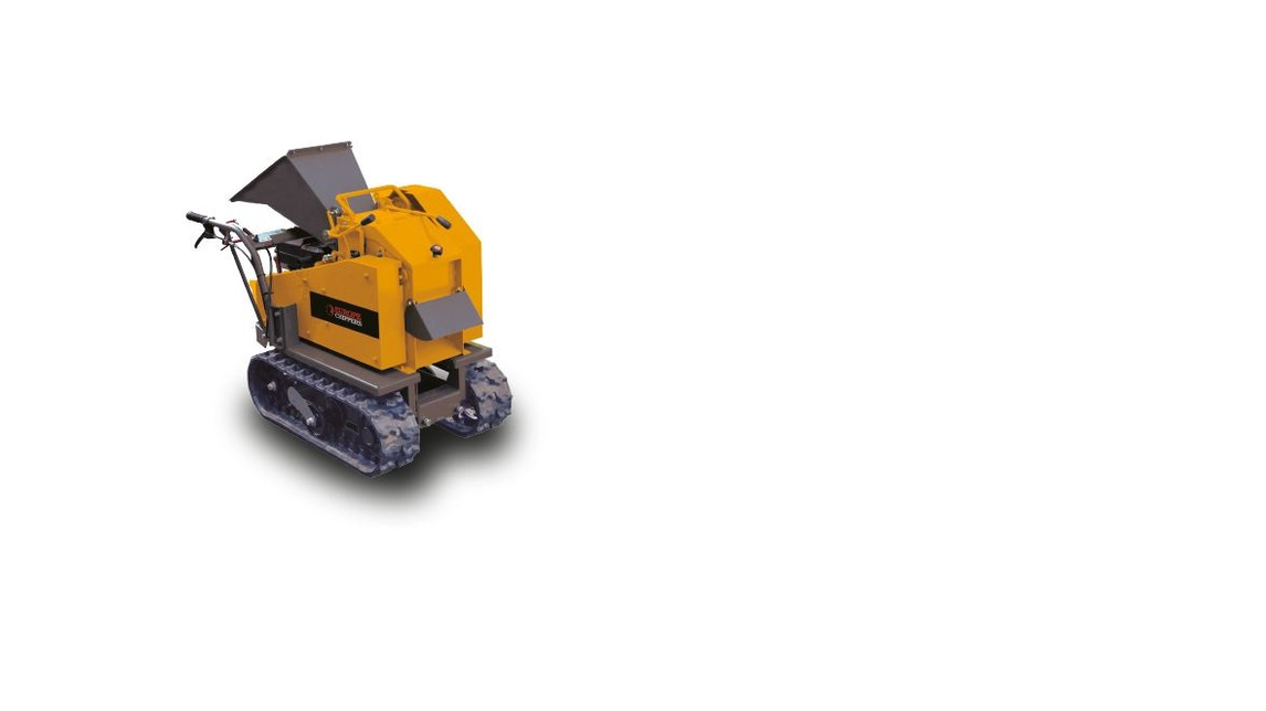 Logo The C70 compact woodchipper