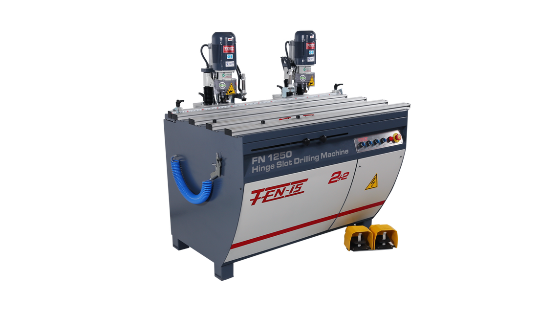 Logo FN1250 Hinge Slot Drilling Machine