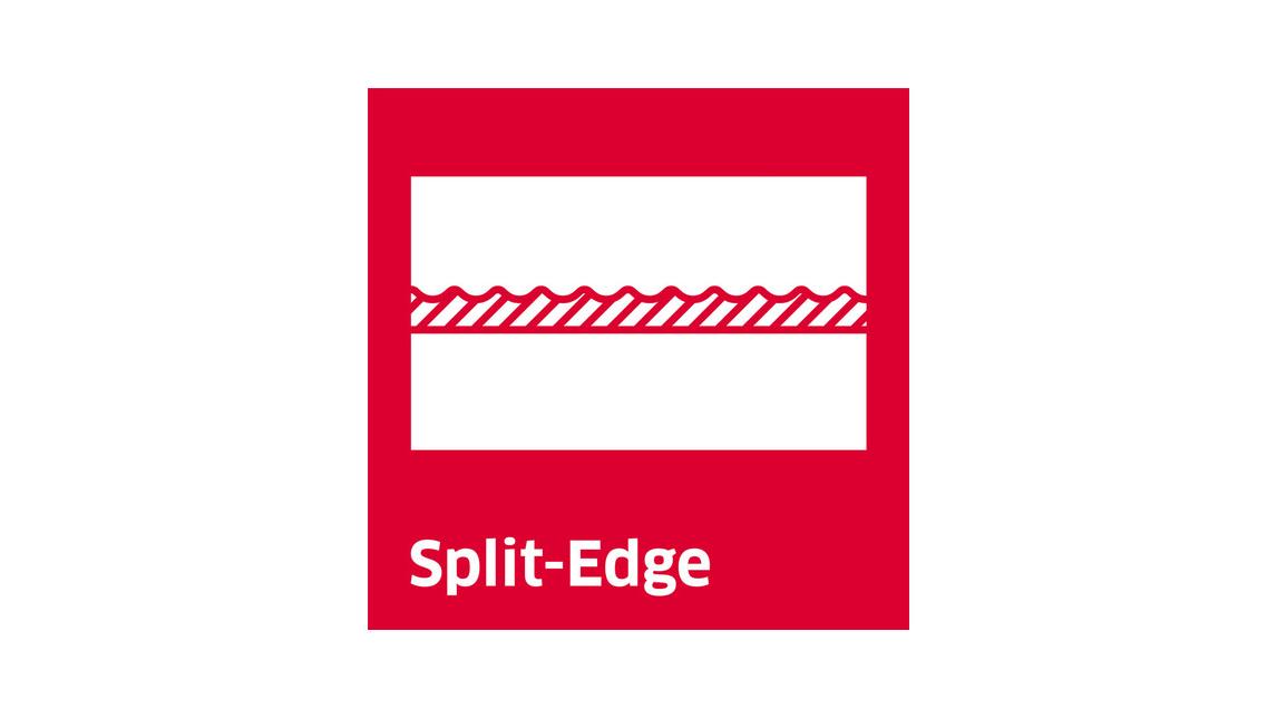 Logo Split-Edge knife