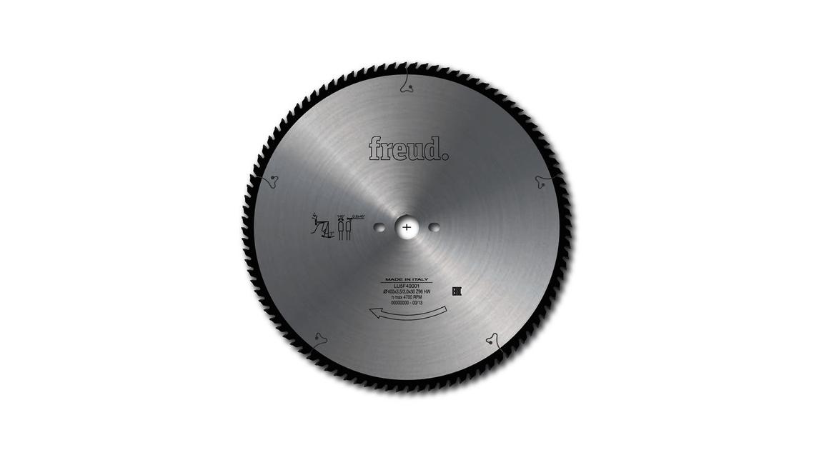 Logo LU5F - Saw blade for cutting aluminum