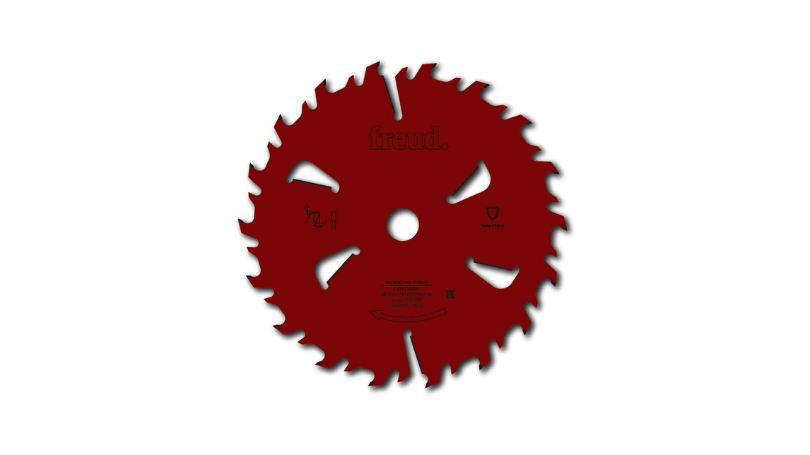 Logo LM10 - Blade for wet wood  multiripping