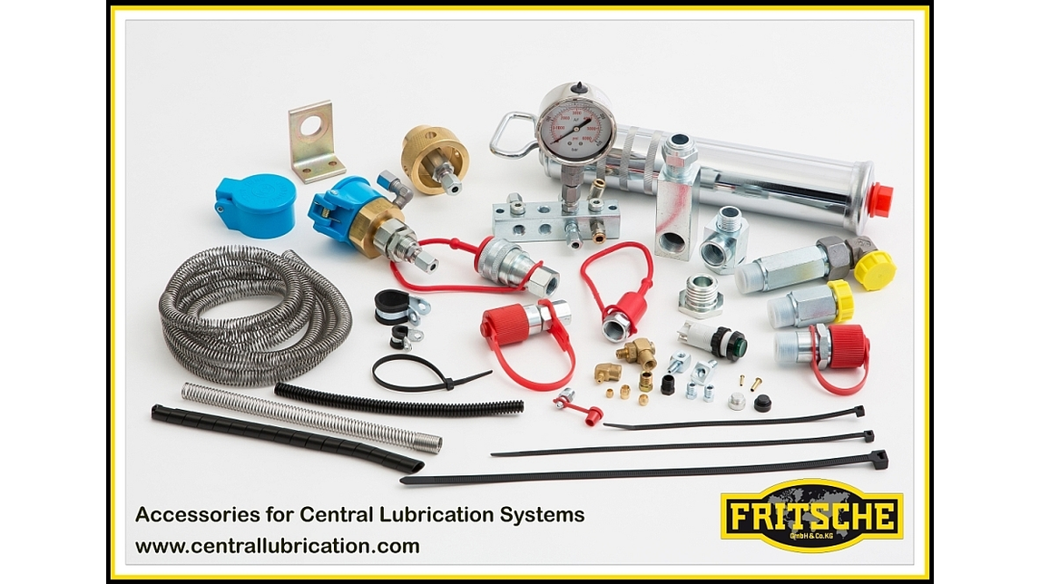 Logo Accessories for centralised lubrication