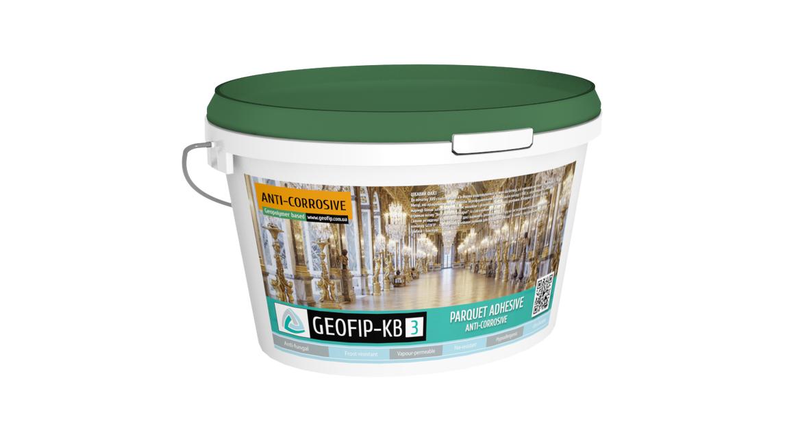Logo GEOFIP-KB3 Parquet Adhesive