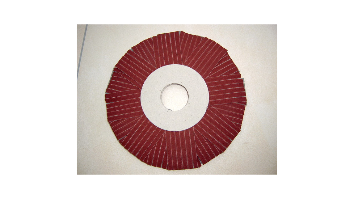 Logo Radial - sanding wheel