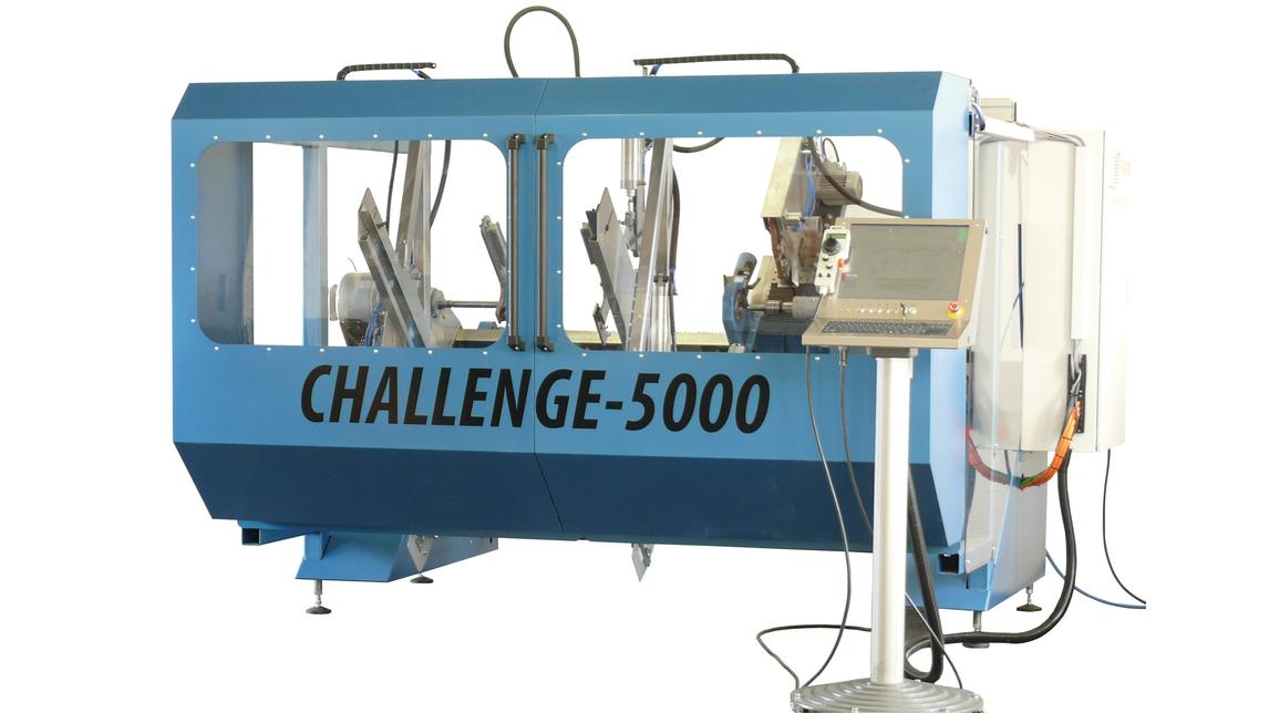 Logo CNC-Drechselvollautomat CHALLENGE-5000