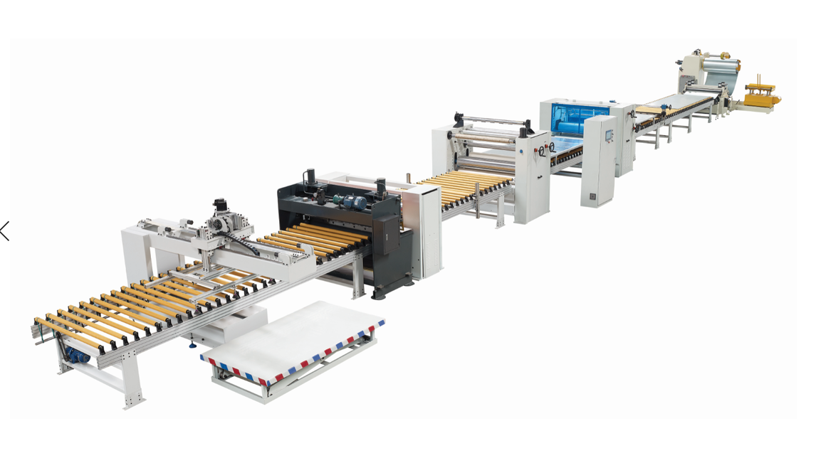 Logo PUR profile wrapping machine