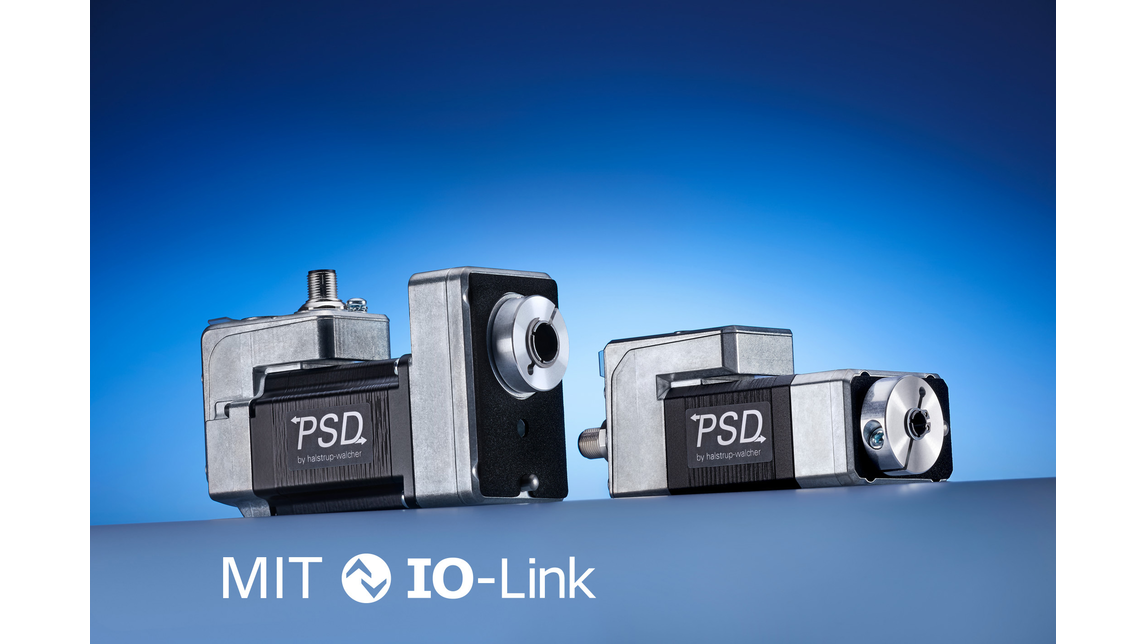 Logo Integrated direct drives with IO-Link