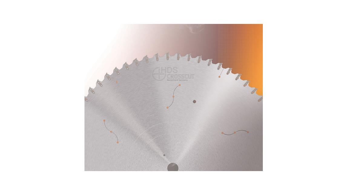 Logo HDS . CROSSCUT CIRCULAR SAW BLADE