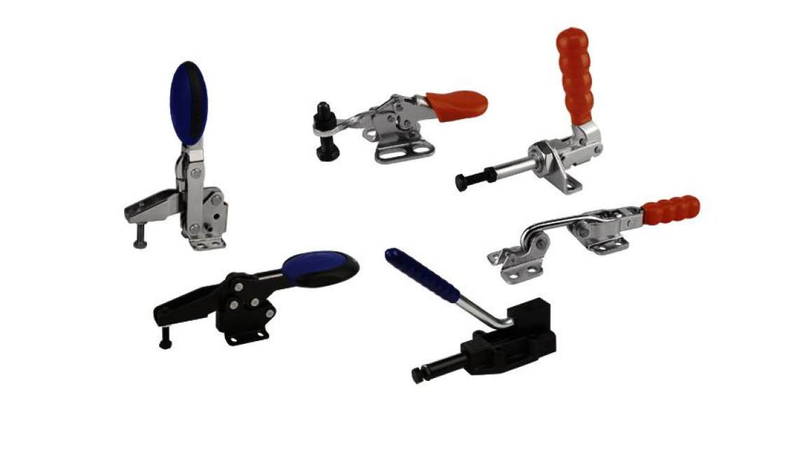 Logo KIPP Toggle clamps, power clamps