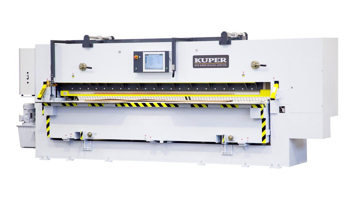 Logo KUPER ZFS 3200 System Josting