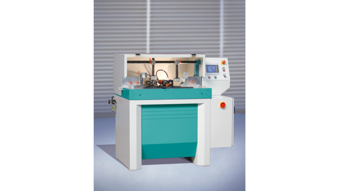 Logo Automatic Dovetail Routing and Dowel Boring Machine PP 2-NC