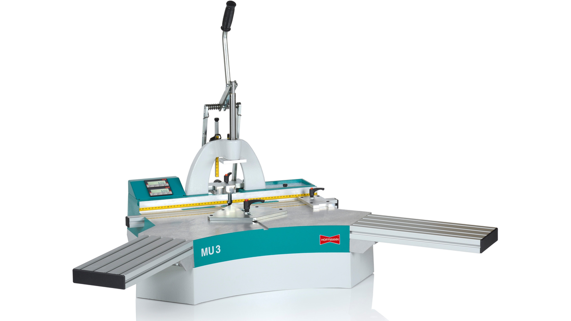 Logo Manual Dovetail Routing Machine MU-3
