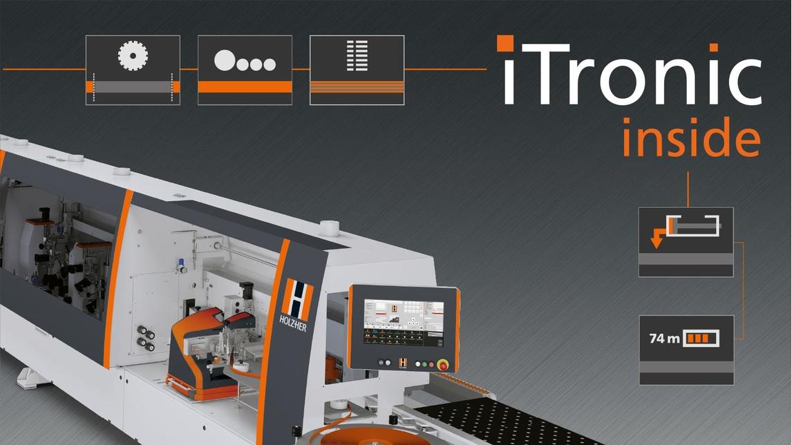 Logo iTronic- intelligent edgebanding