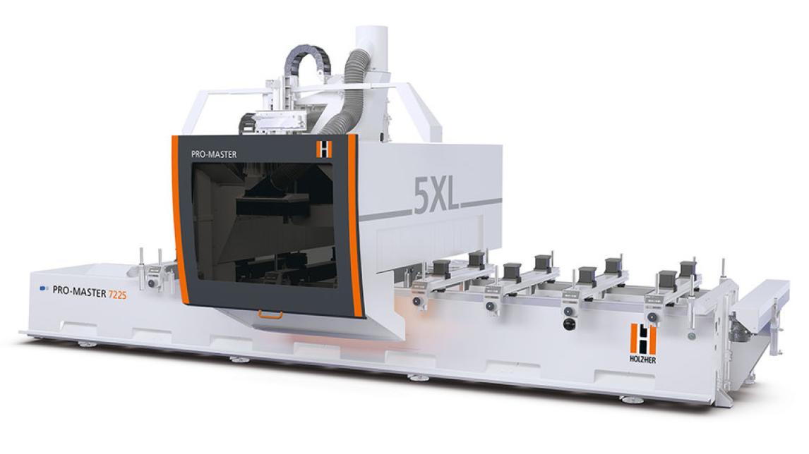Logo 5-axis CNC machine PRO-MASTER 7225